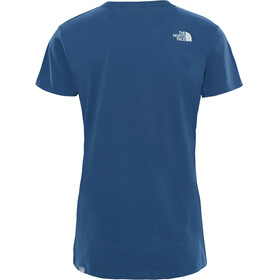 The North Face Easy - T-shirt manches courtes Femme - bleu/blanc